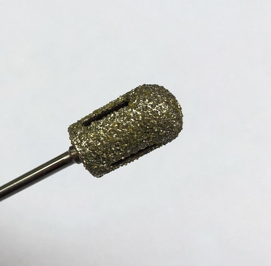 Yeni 10 * 16mm isti 1pcs qaba ənənəvi cilalama manikür pedikür - Dırnaq sənəti - Fotoqrafiya 4