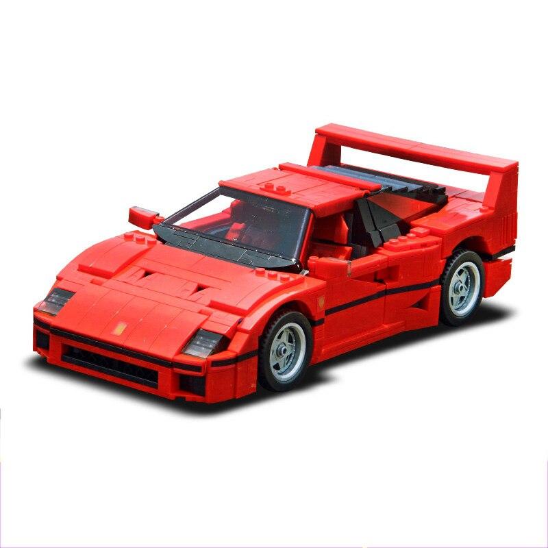 Lepin 21004 Ferrarie F40 Sport Auto Modell Bausteine Kits Ziegel Spielzeug Kompatibel Legoed Technik Block Spielzeug Kinder Geschenke 10248
