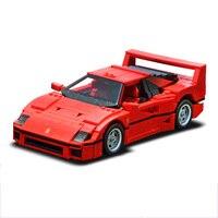 Lepin 21004 Ferrarie F40 Sports Car Model Building Blocks Kits Bricks Toys Compatible Legoed Technic Block Toys Kids Gifts 10248