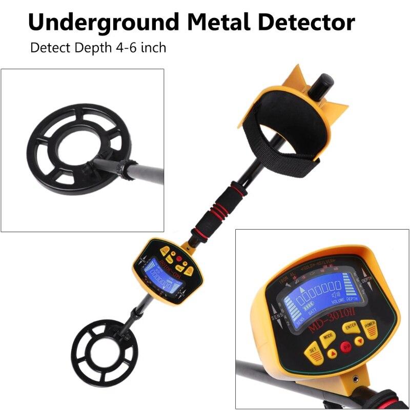 все цены на MD-3010II Underground Metal Detector Gold Digger Treasure Hunter Deep Sensitive онлайн