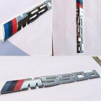 3D ABS Car Styling Power M Performance 520d 525d 528d 530d 535d 550d Car Rear Sticker