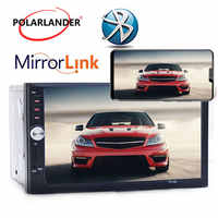 7'' inch LCD Touch screen car radio player BLUETOOTH Autoradio 2 din car audio stereo Mirror Link radio cassette player