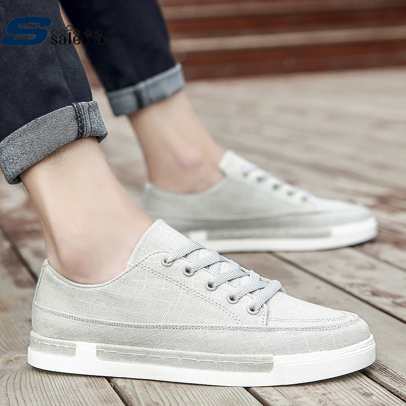 Plein Noir bleu gris Confortable Maille Respirant Aa50226 Up Classique Hommes D'été Chaussures Air Appartements En Lace qYS6aS