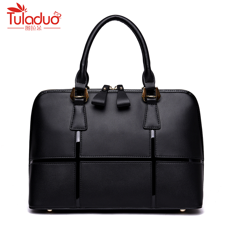2018 New Patchwork Women Shoulder Bags High Quality Female Bag Large Capacity Genuine Leather Women Handbags Luxury Ladies Bags 2016 new genuine polo brand golf bag for men s clothing bag women pu bag large capacity high quality