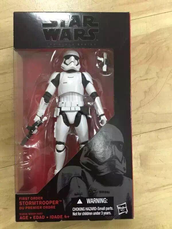 """<font><b>Star</b></font> <font><b>Wars</b></font> 7 The Force Awakens The <font><b>Black</b></font> <font><b>Series</b></font> #<font><b>02</b></font> <font><b>Darth</b></font> <font><b>Vader</b></font> #<font><b>02</b></font> <font><b>Darth</b></font> Maul Stormtrooper <font><b>6</b></font>""""/15cm PVC Action Figure Model Toy"""