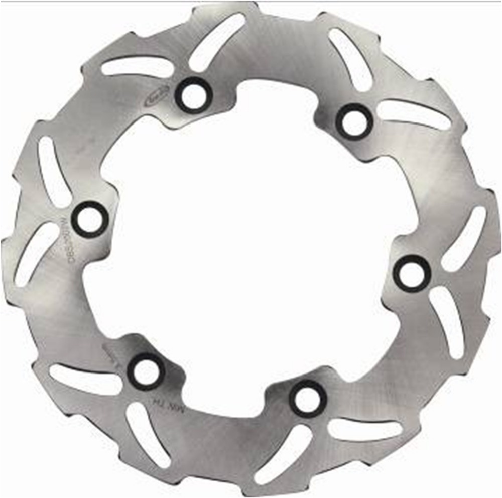 1x Motorcycle Rear Brake Rotor Disc Stainless Steel Braking Disk for Honda CR125R 1987-1993 CR250R 1987-1988 CR500R 1985-1989 1 pcs motorcycle rear brake rotor disc steel braking disk for honda cbr1100xx 1997 2004 xlv1000 varadero abs 2004 2007 2010 2011