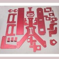 Оптовая продажа DIY 3D принтеры рамки весь наборы для ухода за кожей Совместимость с Reprap Мендель Max 2,0 Корпус Алюминий Металл