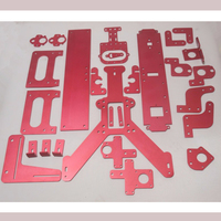 wholesale DIY 3D printer frame whole sets compatible with for Reprap Mendel Max 2.0 case aluminum metal