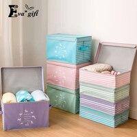 Abbigliamento giocattolo scatola di immagazzinaggio Divisore articoli vari scatola Dell'organizzatore di Trucco Cosmetico Contenitore Armadio boxs Può essere utilizzato in combinazione