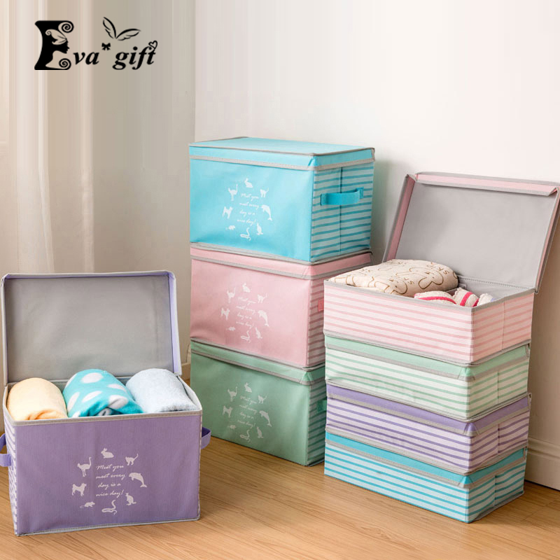 Clothing toy storage box Divider sundries box Organizer Cosmetic Makeup Container Closet boxs Can be used
