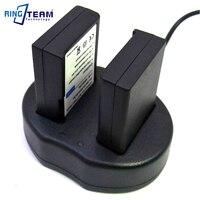 EN EL9 EN EL9a EN EL9e Battery Pack & USB Dual Charger (2 In 1) for Nikon DSLR Cameras D40 D40X D60 D3000 D5000