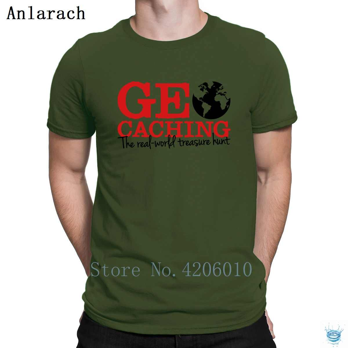 db3f1d4a3fa2 ... Geocaching The Real World Treasure Hunt T-Shirts Round Collar Vintage  Customize 2018 T Shirt ...