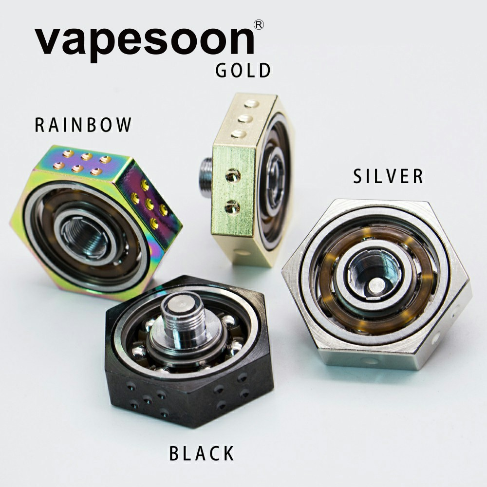 Оригинальный Vapesoon украшения рассеивания тепла Vape Непоседа счетчик подходит для 510 RDA РБА RTA бак Четыре цвета ...