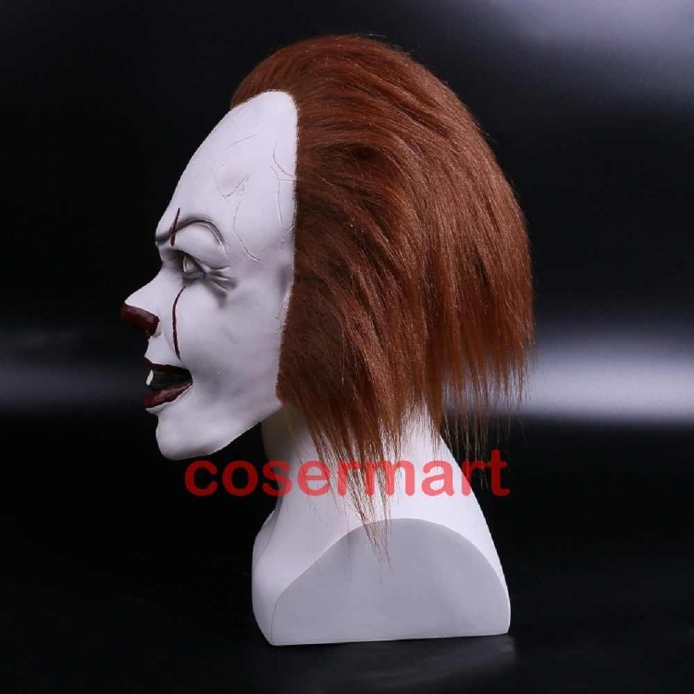 Клоунский костюм на Хэллоуин Стивен Кинг ИТ 2 страшный клоун человек косплей реквизит девочка детская игрушка трюк или лечение