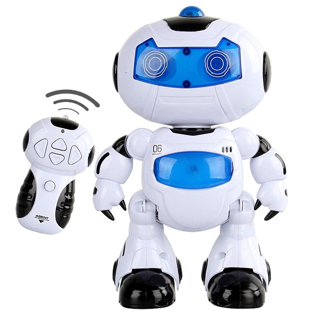 en solar robot rc juguete musical de control remoto juguete electrnico paseo danza lightenning