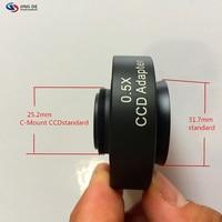 AIBOULLY 4 Металлический микроскоп 0 5 XCCD адаптер зеркало конус зеркало 1/2CCD микроскоп адаптер изображения Стандартный C-Mount интерфейс