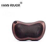 Home Car Dual Use Multifunction Massager Car Massage Pillow Neck Lumbar Leg Massager Infrared Heating Body