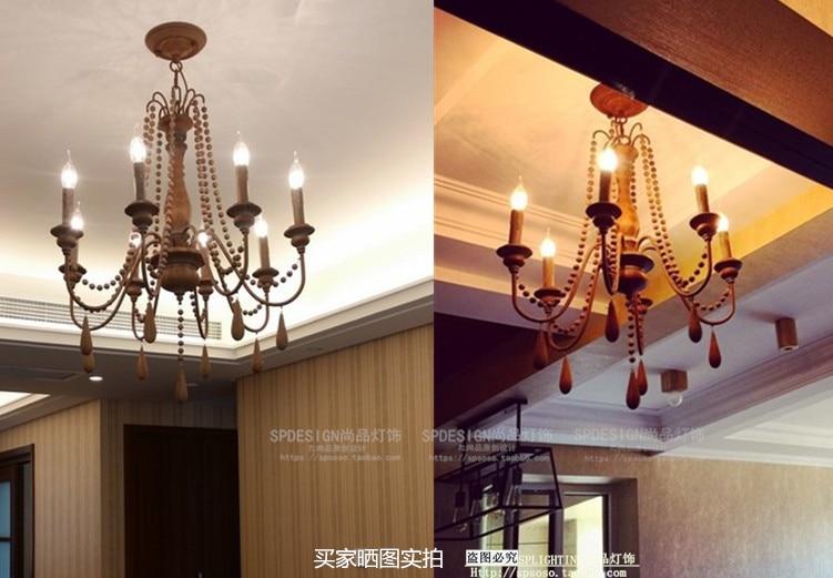 Kronleuchter Mit Holzperlen ~ Französisch garten protokolle kronleuchter wohnzimmer esszimmer