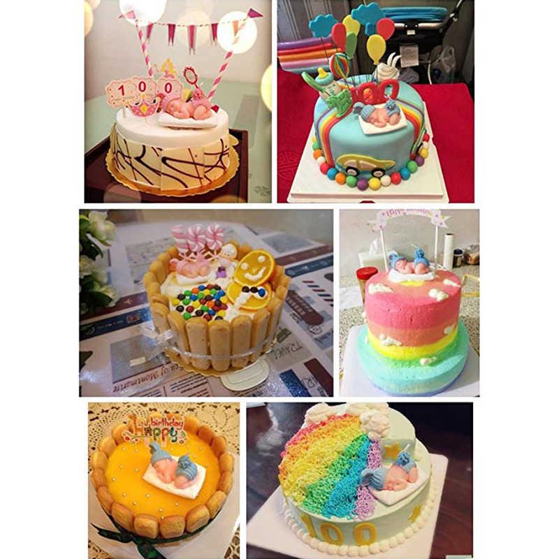 Childrens Birthday Candles Handmade candle wax Sleep Baby Flameless candle Birthday Cake decor Candle For Wedding Birthday gift