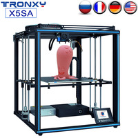 TRONXY Upgraded X5SA X5SA 400 DIY 3D Printer Kit 24V Auto Level FDM 3d Machine Filament Sensor High precision Aluminium Frame