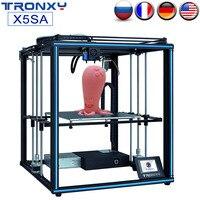 TRONXY Upgraded X5SA X5SA 400 DIY 3D Printer Kit 24V Auto Level FDM 3d Machine Filament Sensor High precision Aluminium Frame