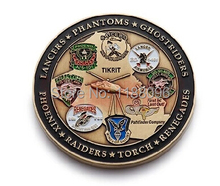 2014 hot sales  Metal Crafts U.S. military Commemorative Coins medals Wholesale and retail Free shipping hl50004