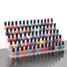 Hot selling Nail polish rock Clear Cosmetic case A variety of cosmetics box Storage plastic box jewelry Rack Case Clear