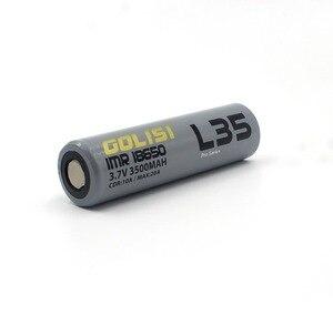 Image 3 - 2 個 GOLISI L35 imr 18650 バッテリー 3500mah CDR 10A 最大 20A 高ドレイン E CIG 吸う用充電式バッテリー懐中電灯ヘッドランプのおもちゃ