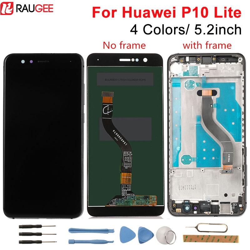 Huawei P10 Lite pantalla LCD digitalizador de pantalla táctil Panel de pantalla de reemplazo para Huawei P10 Lite LCD WAS-LX1 WAS-LX1A/LX2 /LX3