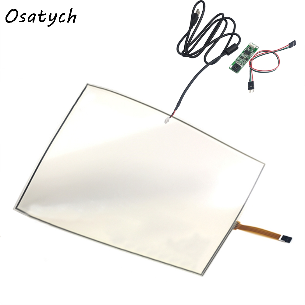 Tablet Lcds & Panels Industrious 15 Inch 4 Wire 4:3 322*247mm 247*322mm Foldable For Ultra-thin 0.5mm Touch Screen Panel And Usb Controller Kit Win7 Win8 Beneficial To The Sperm Back To Search Resultscomputer & Office