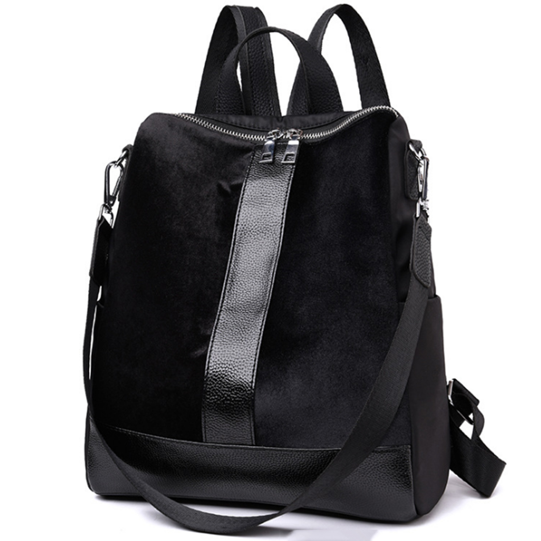 HIPSTEEN 2018 Portable Women Travel Backpack Oxford Suede Casual Travel Shoulder Bags Daily Traveling Student School Bag Hot Hot