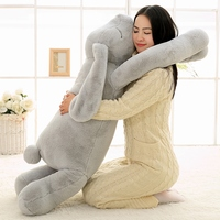 Soft Long Arm Rabbit Plush Toy Stuffed Animal Pillow Plush Rabbit Doll Korean Pillow Baby Soothe Toy Sofa Cushion Girl Gift