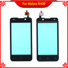 Original Touch Screen 4 Inch For Malata N400  100% Tested Mobile Phone Touch Panel  Free tools touch panel original for gt gunze usp 4 484 038 g 28 for touch membrane screen touch pad