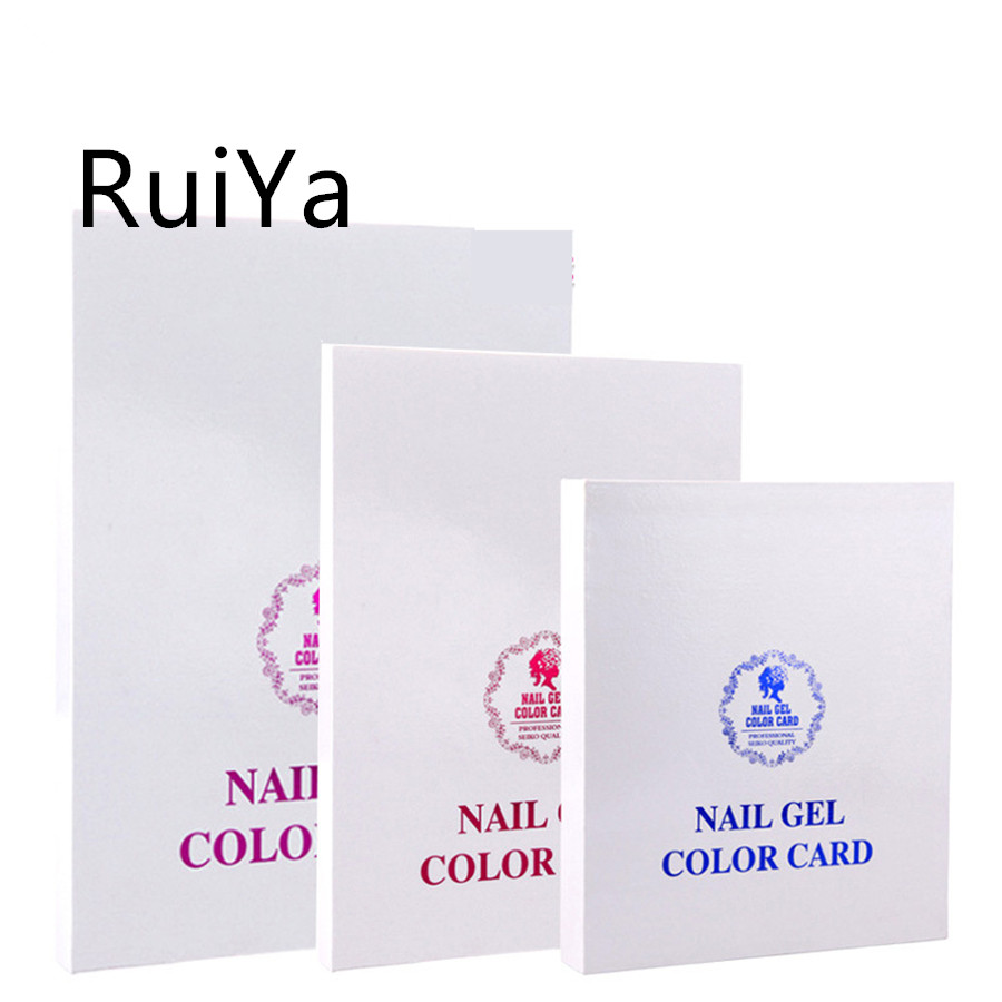 Coolshop Bewertungen Nail Color Card Gel Color Chart 120 216 308 Colors Display Box Model For Nails Polish Uv Gel Show Chart Art Salon