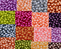 Envío Libre 4mm 300 unids AZZ00362 18 color, ABS perlas de Imitación Perlas, Libro de Recuerdos de resina Para la Decoración de DIY