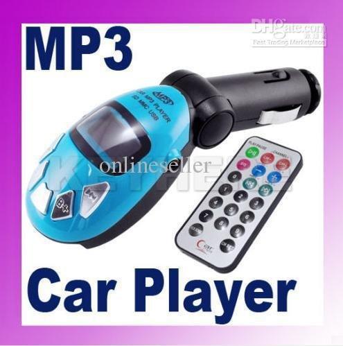 Car MP3 Player Wireless FM Transmitter USB SD Card Jack