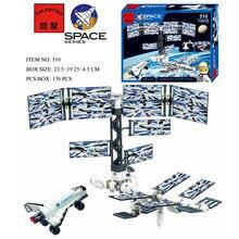 Enlighten International Space Station Space Series Blocks Educational Toy Assembling Building Blocks Minifigures Toy