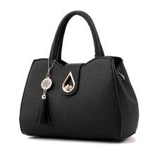 Fashion Medium female Bag Shoulder Bags Casual Women Messenger Young sweet lady Leather Handbags
