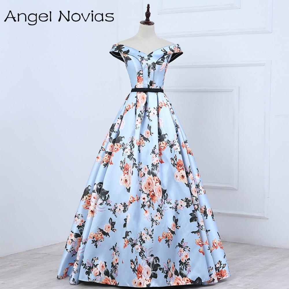 कंधे प्रोम कपड़े 2017 रॉयल - विशेष अवसरों के लिए ड्रेस