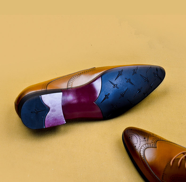 Yazhot sapatos masculinos de luxo, calçados para