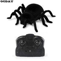 Mô phỏng Spider Toy Nhện Leo Tường Điều Khiển Từ Xa Hồng Ngoại RC Tarantula Furry Điện Tử Spider Kid Halloween Đồ Chơi Quà Tặng
