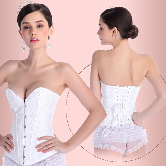 fa8c8d12d1c new arrivals bridal corset sexy white corset summer bridal overbust bustier  wedding corset top-in Bustiers   Corsets from Underwear   Sleepwears on ...
