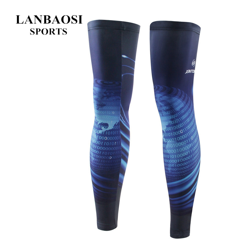 Men Summer Bike Wear Universal Soft Breathable Cooling Legs Warmer Bicycle Sunscreen Cycling Strech Windproof Leg Warmers