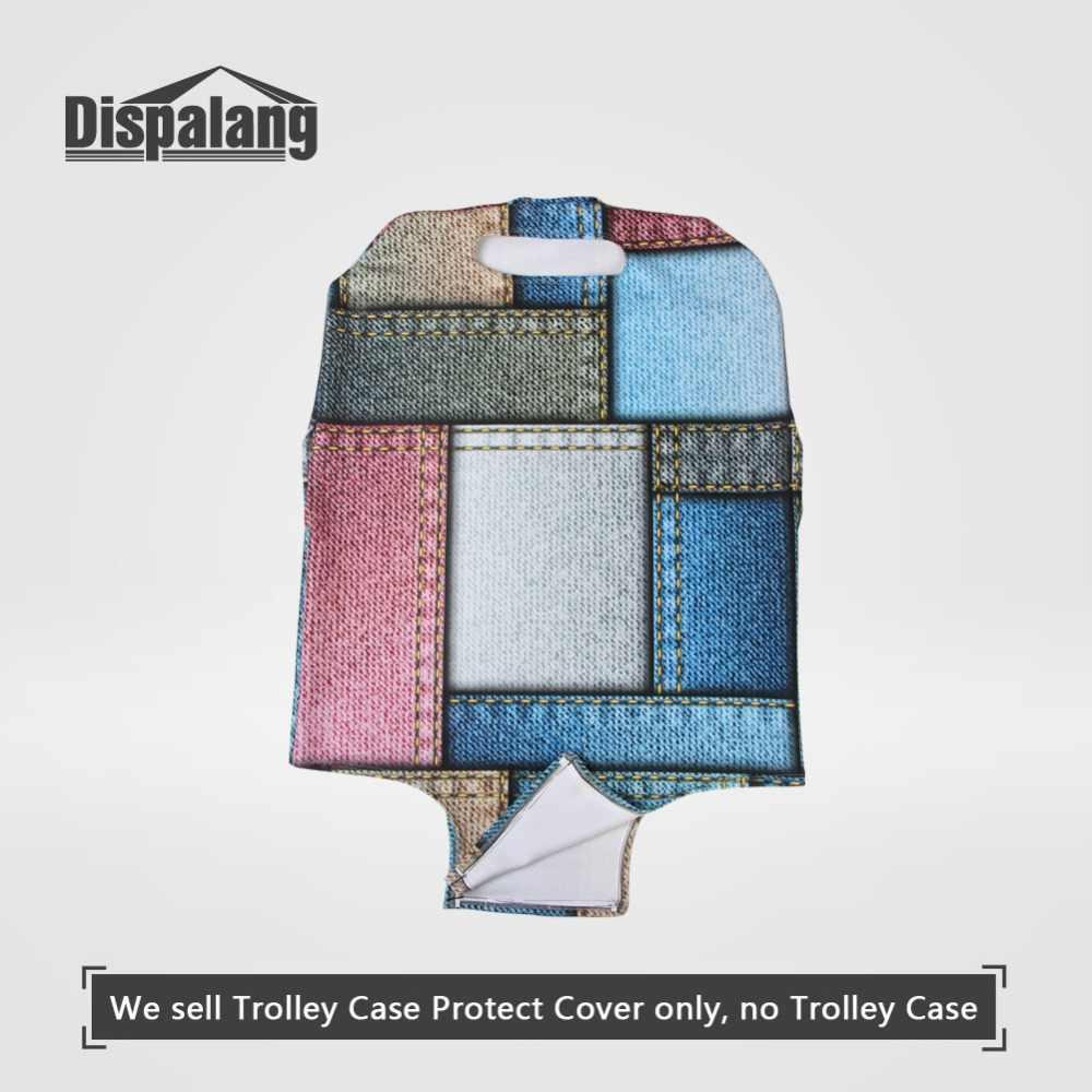 Dispalang женский модный чехол для чемодана портативный эластичный стрейч защитный багажный чехол для 18 20 22 26 28 30 32 дюймов в розницу