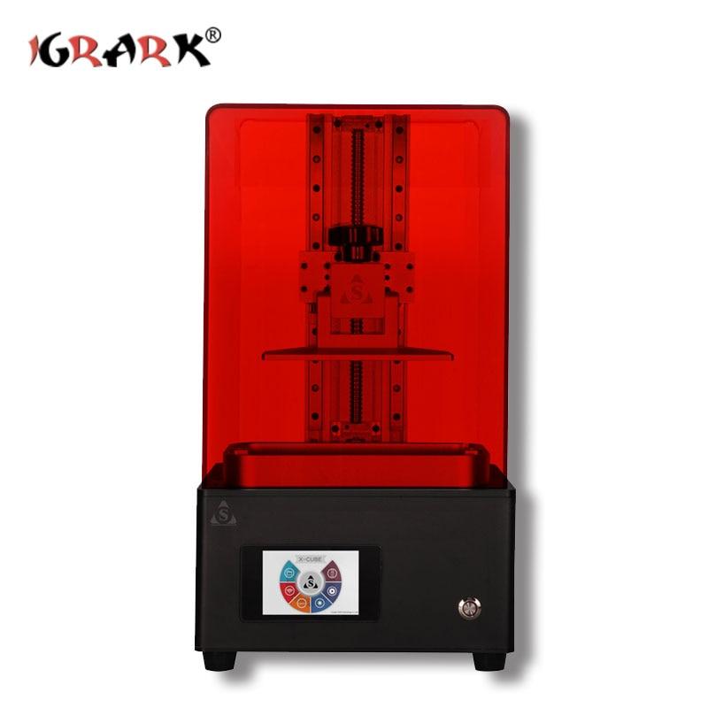 IGRARK LCD photopolymérisable imprimante 3D SLA/DLP photosensible résine bijoux modèle imprimante à main - 5
