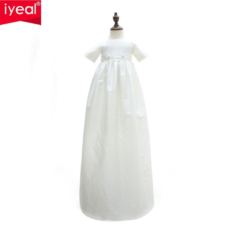 купить IYEAL Newborn Baby Boy Clothes Set Birthday Christening Cloth Infant Toddler Boys Formal Wedding Clothes Suit for Baptism 0-12M по цене 2007.97 рублей