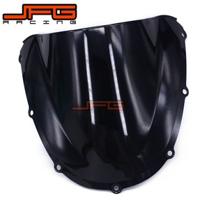 Black Windscreen Windshield for Honda CBR954RR CBR900RR CBR954 RR CBR900 RR CBR 954RR 900RR 2002-2003 2002 2003(China)