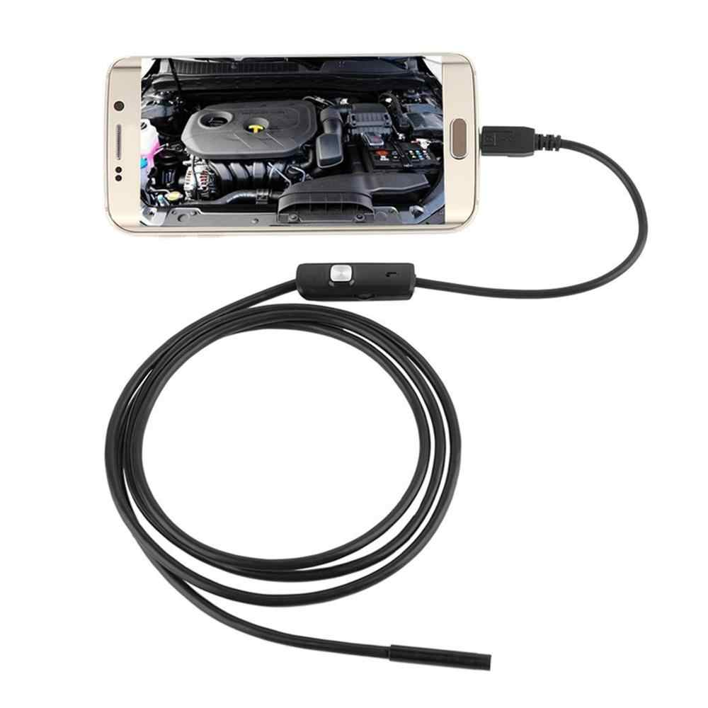1M/1.5M/2M/3.5M 7mm Lens HD 480P USB OTG Snake Endoscope Waterproof 6 LEDs Inspection Pipe Camera Borescope For Android Phone PC