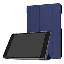 Ультратонкий откидной Чехол-книжка из искусственной кожи на магните для Asus Zenpad Z8S ZT582 ZT582KL планшет Смарт-Чехол + пленка + ручка