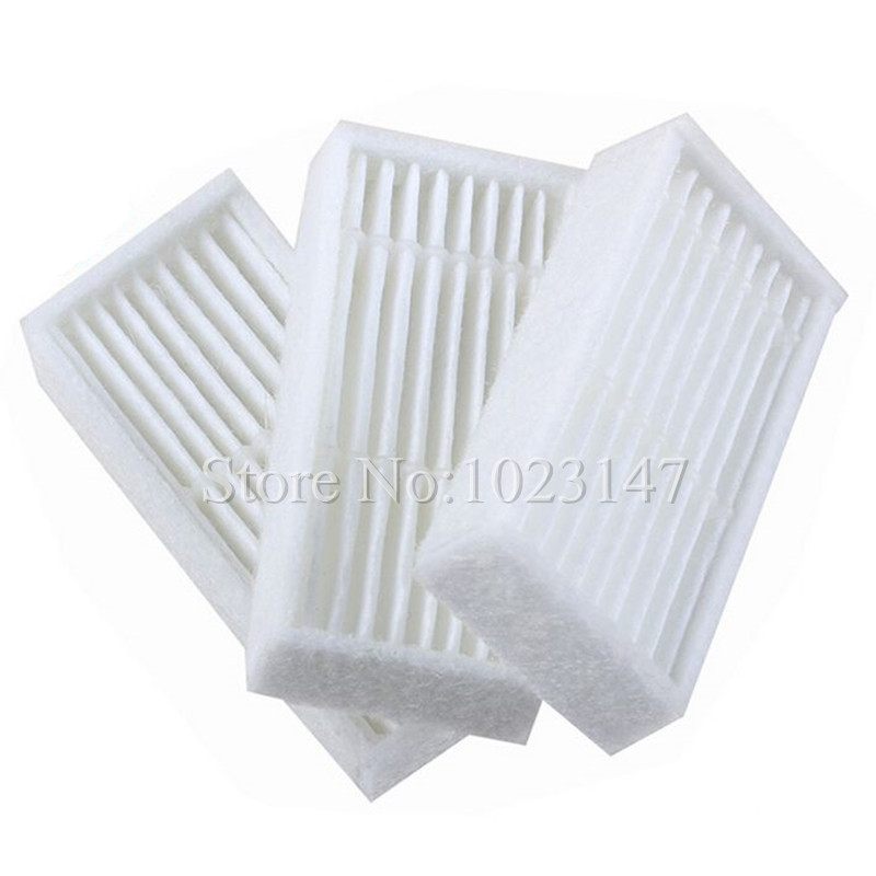 6 pieces/lot Robot Vacuum Cleaner Parts HEPA Filter Replacement for Ecovacs Deepoo Deebot X600 ZN605 ZN606 ZN607 ZN609 rtm875t 605 rtm875t 606